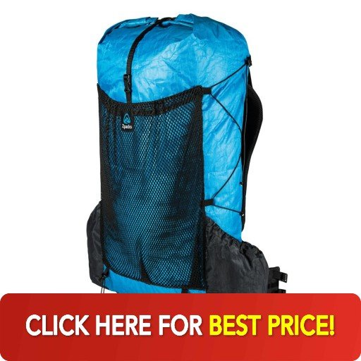 Zpacks Arc Blast 55 backpack